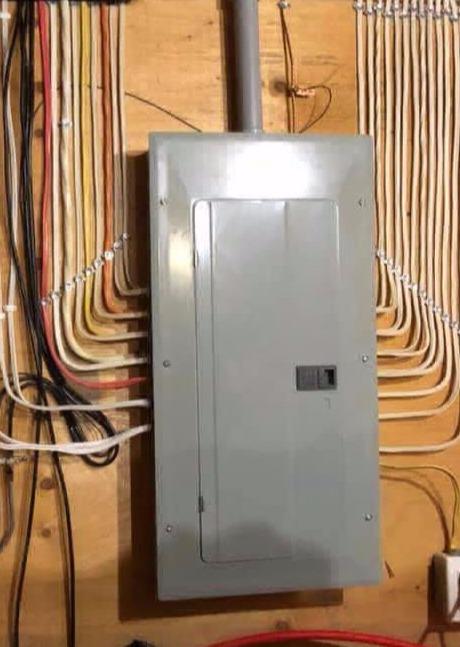 Organized Electrical Panel